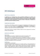 bts dietetique