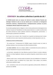 communique presse codifab fr mars 2015