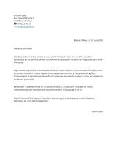 lettre de motivation manpower