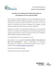 invitation consultation