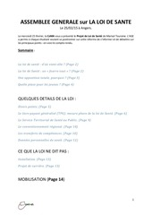 Fichier PDF loi sante compte rendu ag