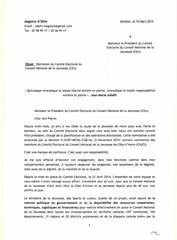 ma lettre de demission du comite electoral du cnj