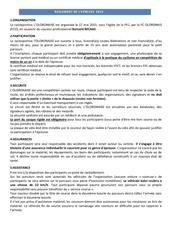 reglement de l epreuve 2015