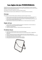 Fichier PDF tchoukball re gles base