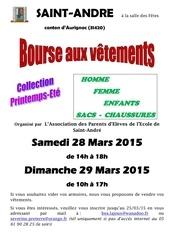 affiche bourse aux vetements mars2015 e
