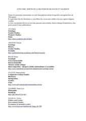 annuaire sortir de la recherche blanche et validiste v2