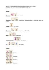 Fichier PDF liste stylisme femme