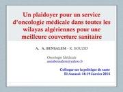 plaidoyer oncologie bensalem1