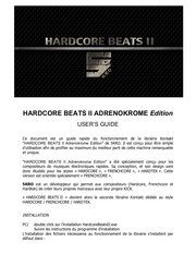 Fichier PDF hardcore beats ii users guide