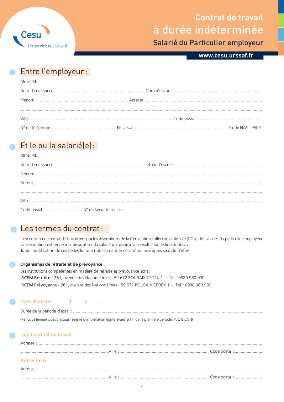 2288 ContratTravail CESU CDD par Amelie   CDI cesu.pdf   Fichier PDF
