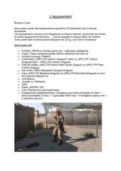 equipement pdf