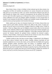 candide texte 2 extrait du chapitre iii