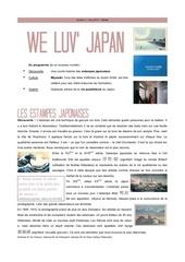 we luv japan 1