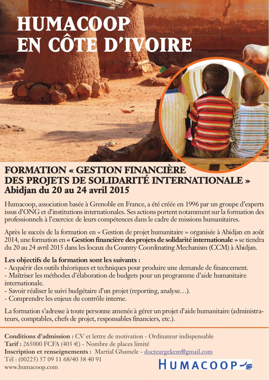 flyer formation abidjan