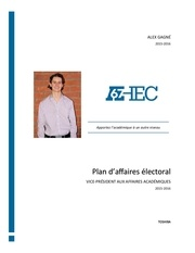 plan daffaires electoral alex gagne alexgagne