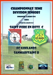 championnat 3eme division seniors exterieur