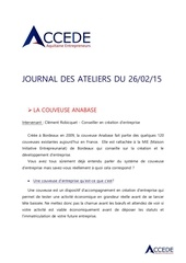 journal des ateliers accede 26 fev 1