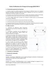 notice pompe de brassage jebao rw 8