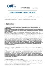 Fichier PDF acquis de l unpi en 2014