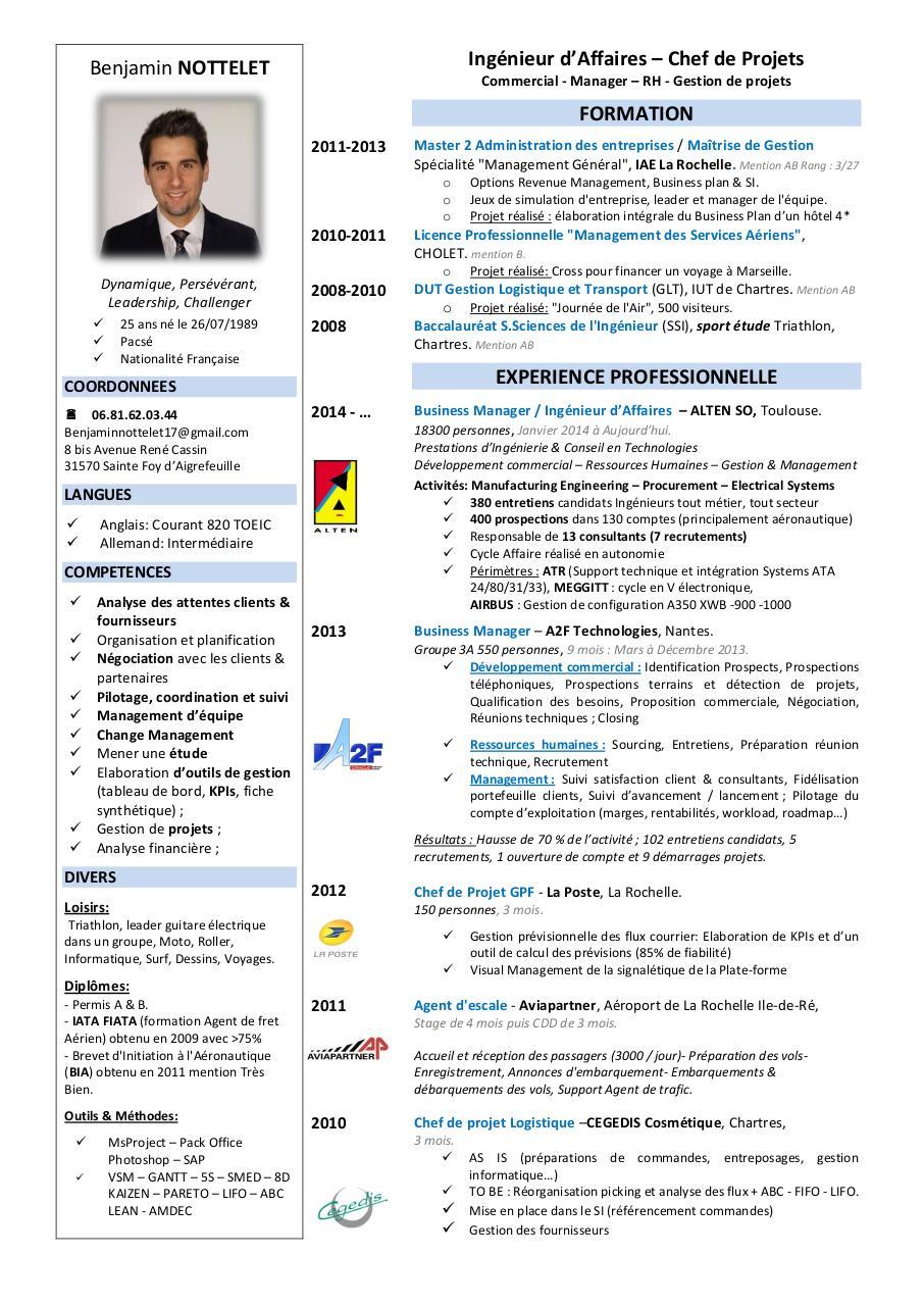cv j u00e9r u00f4me wassler par jerome wassler - page 1  1
