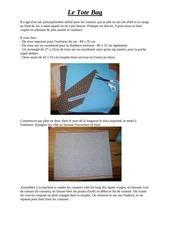 Fichier PDF le tote bag