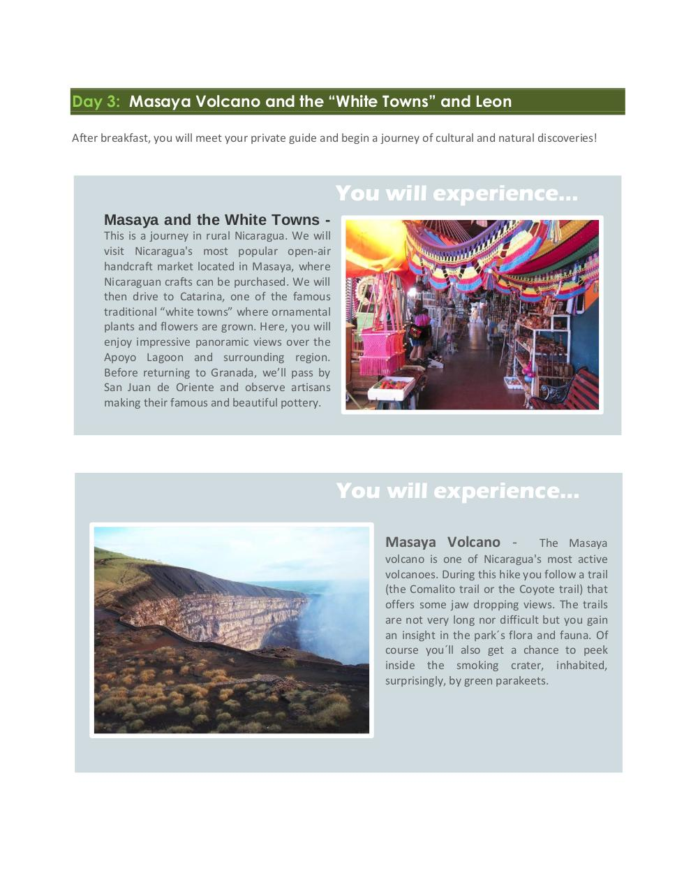 Nicaragua exotic and unspoiled - 8 days.pdf - page 4/9