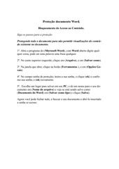 Fichier PDF senha de protec o word by carlos daniel