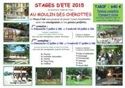 affiche moulin des cherottes 2015 poney