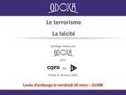 odoxa pour itele cqfd le terrorisme laecite