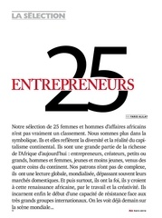 paul rafanoharana 25 entrepreneurs africains