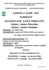 2015 04 11 turretot qualif triplette ligue