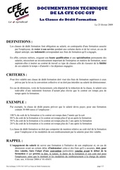 doc 2 cfe cgc gst la clause de dedit formation