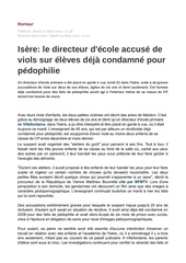 pedophilie
