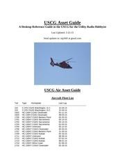 uscg asset guide 2015