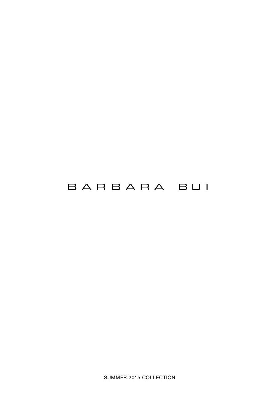 Barbara Bui _Summer 2015 collection.pdf - page 1/36