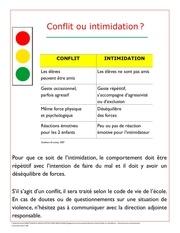 Fichier PDF distinguer un conflit une situation intimidation