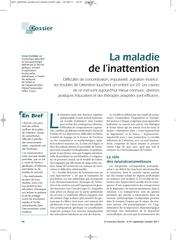 Fichier PDF inattention