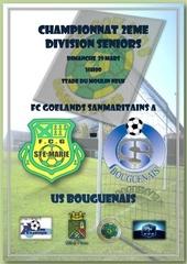championnat 2eme division seniors