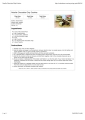 Fichier PDF nutella chocolate chip cookies