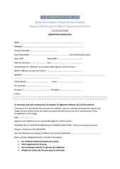 Fichier PDF inscription adherents 2015