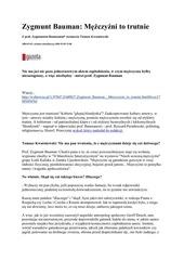 Fichier PDF zygmunt bauman