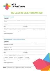 bulletin sponsoring 2015
