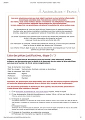 Liste documents transcription mariage en alg rie par for 11 rue de la maison blanche 44941 nantes cedex 09