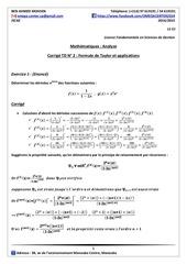iscae lfg1corrige td n 2 taylor et applications