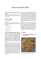 Fichier PDF royaume des beni abbes