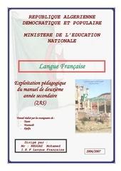 tous les projets en pdf 2as