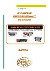 catalogue impression haut de gamme format a4