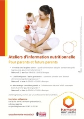 flyer ateliers nutrition parents