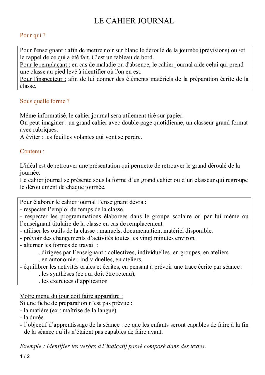 Site - Le cahier journal.pdf - page 1/2