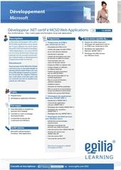 certification mcsd web application developpeur net mcsd